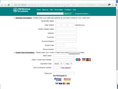 HMRC Scam